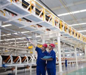 张煤机公司大功率带式输送机首次进入新疆市场